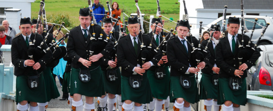 Keel Pipe Band